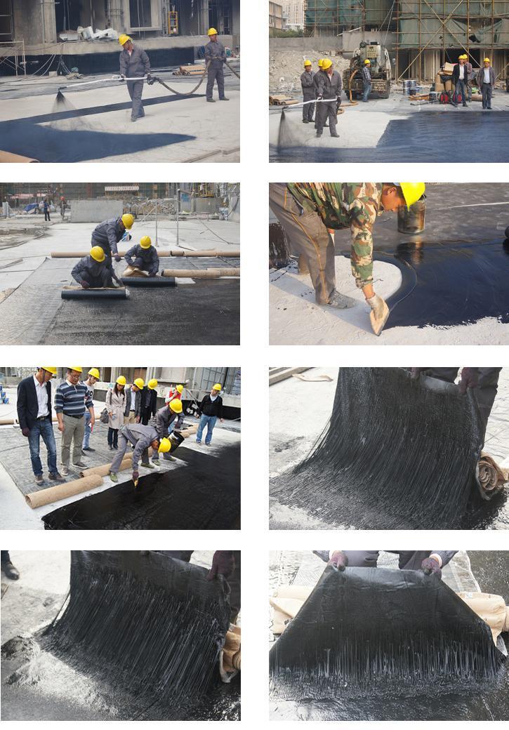 非固化橡胶沥青防水涂料施工流程